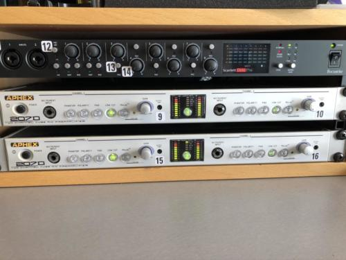 Control Room Outboard equipment