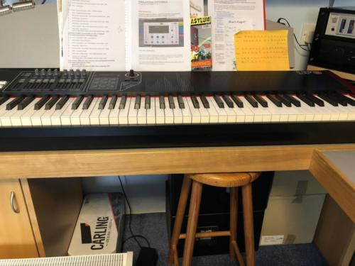 CME 88 note weighted keyboard